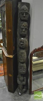 Sale 8368 - Lot 1050 - Large Tribal Carving 184cm H