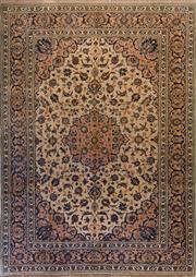 Sale 8455C - Lot 15 - Persian Kashan 265cm x 380cm