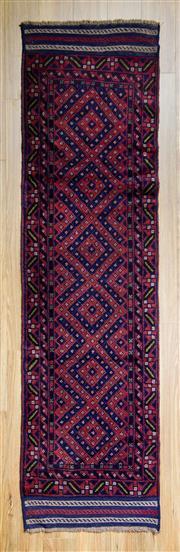 Sale 8559C - Lot 67 - Persian Sumak 247cm x 67cm