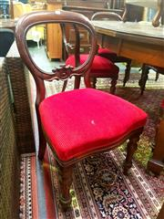 Sale 8657 - Lot 1052A - Set of 6 Antique Mahogany Dining Chairs