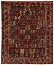 Sale 8740C - Lot 15 - A Persian Bakhtiyari And Classic Garden Design, 100% Wool On Cotton, Classed As Prerevolution Weave, 378 x 310cm