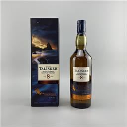 Sale 9165 - Lot 669A - 2009 Talisker Natural Cask Strength 8YO Single Malt Scotch Whisky - 2018 Limited Release, 59.4% ABV, 700ml in box