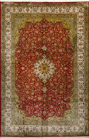 Sale 8380C - Lot 46 - Kashmiri Silk Super Fine 185cm x 280cm