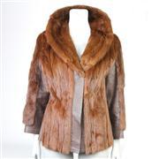 Sale 8387 - Lot 53 - Hammerman Kolinsky & Leather Ladies Jacket