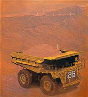 Sale 8427 - Lot 554 - Marc De Jong (1970 - ) - Mining Truck 152 x 137cm