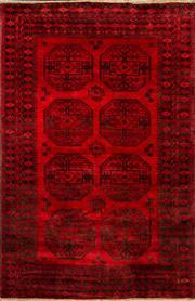 Sale 8455C - Lot 16 - Afghan Qunduzi 230cm x 152cm