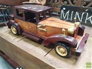 Sale 8455 - Lot 1024 - Timber Model Car