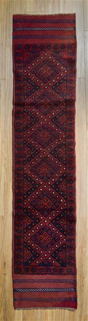 Sale 8559C - Lot 68 - Persian Sumak 240cm x 60 cm