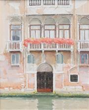Sale 8565 - Lot 506 - Rick Everingham (1945 - ) - Venice Facade, 2006 48.5 x 38.5cm