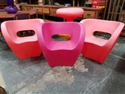 Sale 8782 - Lot 1052 - Set of 3 Little Albert Chairs by Ron Arad in Red