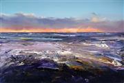 Sale 9013 - Lot 535 - Geoff Dyer (1947 - ) - Ocean Beach Foam, 2015 122.5 x 183.5 cm (total: 122.5 x 183.5 x 3 cm)