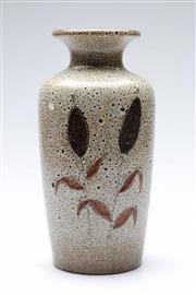 Sale 9090 - Lot 35 - A West German pottery vase (H31cm)