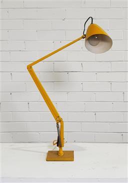 Sale 9146 - Lot 1058 - Yellow planet lamp (h:86cm)