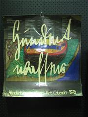 Sale 8338 - Lot 1010A - 1975 Hundertwasser Calendar