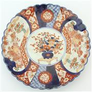 Sale 8356 - Lot 73 - Meiji Imari Pattern Charger