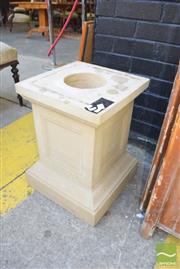 Sale 8390 - Lot 1390 - Sandstone Plinth