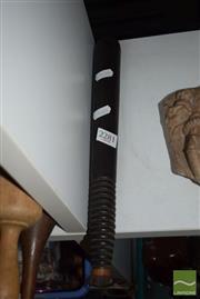 Sale 8509 - Lot 2281 - Turned Wooden Baton