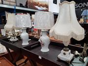 Sale 8697 - Lot 1090 - Collection of 4 Table Lamps