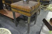 Sale 8287 - Lot 1097 - Vintage Butchers Block