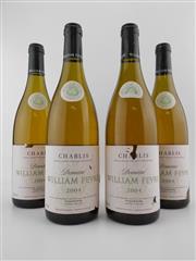 Sale 8479 - Lot 1793 - 4x 2004 Domaine William Fevre, Chablis