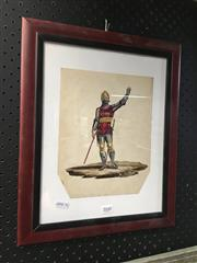 Sale 8752 - Lot 2048 - Knights Templar Watercolour & Gouache