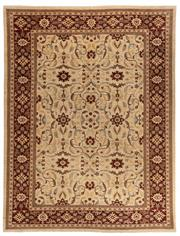 Sale 8780C - Lot 210 - An Afghan Chobi Naturally Dyed In Hand Spun Wool, Very Suitable To Australian Interiors, 355 x 271cm