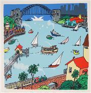 Sale 8916 - Lot 517 - Peter Kingston (1943 - ) - The North Shore, 2011 54 x 53 cm