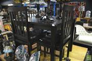 Sale 8361 - Lot 1047 - Modern 5 Piece Dining Suite