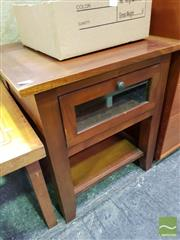 Sale 8465 - Lot 1075 - Timber Side Table