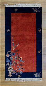 Sale 8559C - Lot 71 - Indian Modern Carpet 145cm x 70cm