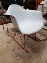Sale 8676 - Lot 1131 - Modern Rocking Tub Chair