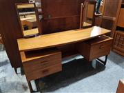 Sale 8765 - Lot 1051 - G-Plan Quadrille Dressing Table with Mirrors