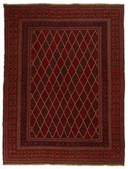 Sale 8715C - Lot 85 - A Persian Meshvani Village Rug, Wool On Cotton Foundation Classed As Tribal Sumak, 274 x 208cm