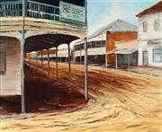 Sale 8992 - Lot 505 - John Vander (1947 - ) - The Old Pub, Singleton 44.5 x 54.5 cm (frame: 60 x 70 x 3 cm)