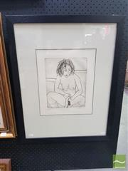 Sale 8544 - Lot 2024 - Andrew Southall - Nude, 1977 26 x 20cm (frame size: 64.5 x 51cm)