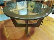 Sale 8661 - Lot 1019 - Round Teak Coffee Table