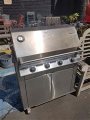 Sale 8676 - Lot 1194 - Natural Gas Beefeater BBQ with Wok Burner