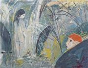 Sale 8704 - Lot 512 - Arthur Boyd (1920 - 1999) - Susanna and the Elders 53 x 70cm