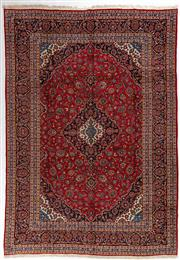 Sale 8740C - Lot 20 - A Persian Kashan From Isfahan Region 100% Wool Pile On Cotton Foundation, 400 x 300cm