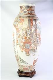 Sale 8832 - Lot 40 - A Large Hand Painted Satsuma Vase