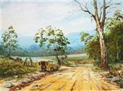 Sale 8838A - Lot 5001 - John Francis Hingerty (1930 - ) - Up The Mudgee Way, 1977 44.5 x 59.5cm