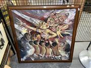 Sale 8924 - Lot 2050 - Artist Unknown - Balinese Deities, oil on canvas, SLR
