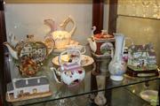 Sale 8288 - Lot 86 - Royal Albert Trio with Other Ceramics incl Saddler Teapot