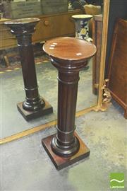 Sale 8371 - Lot 1013 - Timber Column Form Pedestal