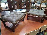 Sale 8601 - Lot 1389 - Pair of Retro Footstools