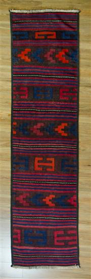 Sale 8665C - Lot 30 - Persian Kilim Runner 290cm x 76cm