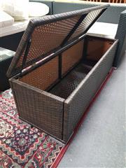 Sale 8669 - Lot 1084 - Plastic Weave Pool Box