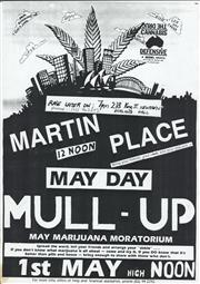 Sale 8766A - Lot 5034 - May Day Mull-Up, Martin Place - screenprint