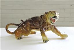 Sale 9137 - Lot 1032A - Ceramic tiger (h:21cm)