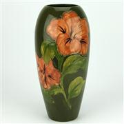 Sale 8314 - Lot 92 - Moorcroft Hibiscus Vase